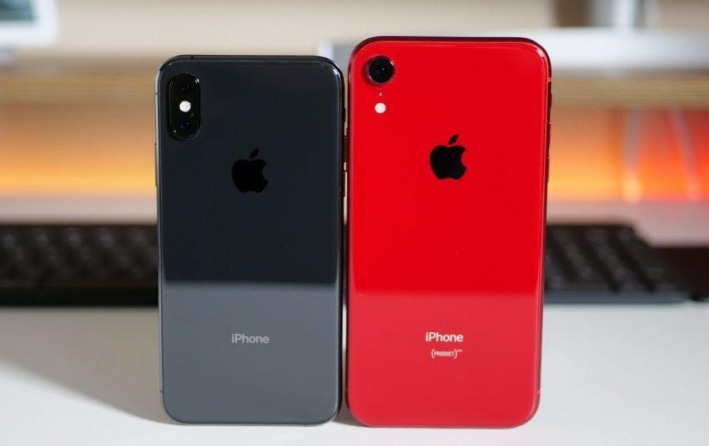 iPhone XS et iPhone XR 1000x629 Les Chinois abandonnent liPhone à cause du prix et du manque de nouveautés