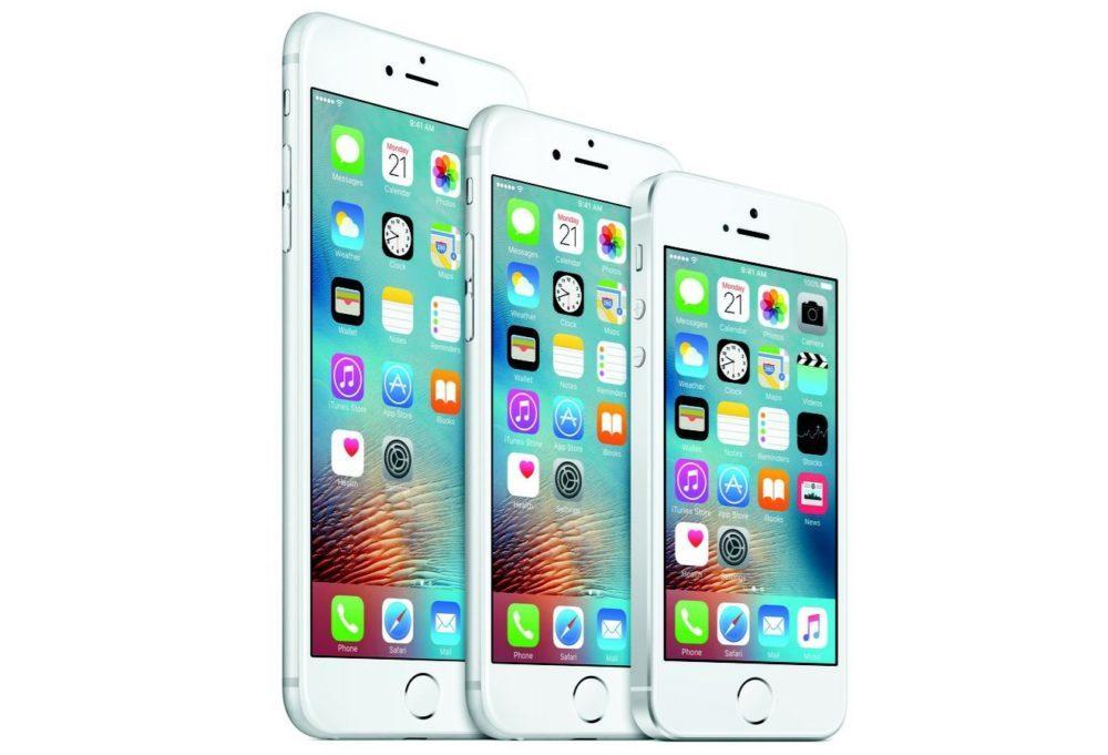 iphone se iphone6 iphone 6s 1000x681 iOS 13 : clap de fin pour les iPhone 5s, 6, 6s et SE ?