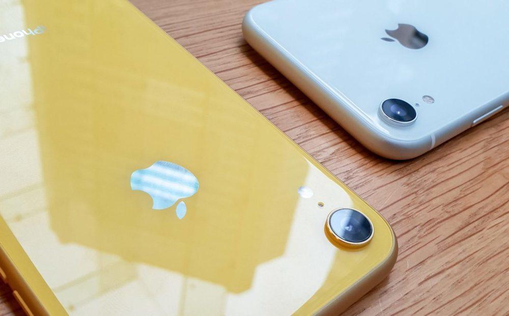 iphone xr jaune blanc 1000x621 Les ventes d'iPhone pour le dernier trimestre ont été médiocres