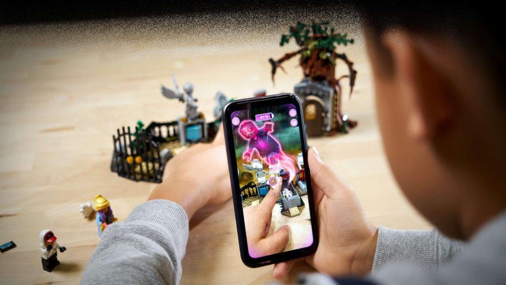 Il va bientôt être possible de jouer aux Lego hantés avec un iPhone