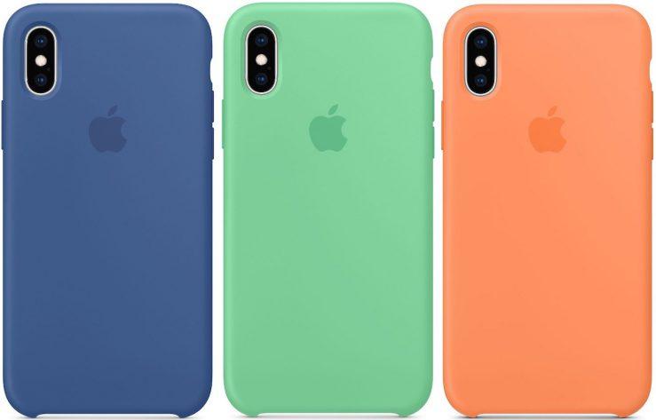 Coque iPhone XS Silicone Printemps 2019 Les bracelets Apple Watch et coques iPhone pour le printemps 2019 sont disponibles