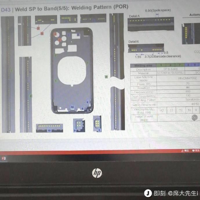 Fuite Schema Camera iPhone 2019 Un schéma corrobore lemplacement des 3 appareils photos des iPhone de 2019