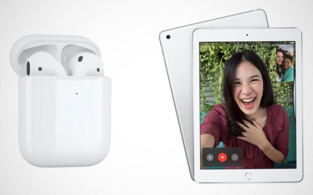 apple airpods ipad 1000x625 Les AirPods 2 et des nouveaux iPad seraient en phase de production