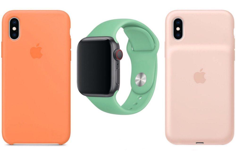 apple watch bracelets coques iPhone printemps 2019 Les bracelets Apple Watch et coques iPhone pour le printemps 2019 sont disponibles