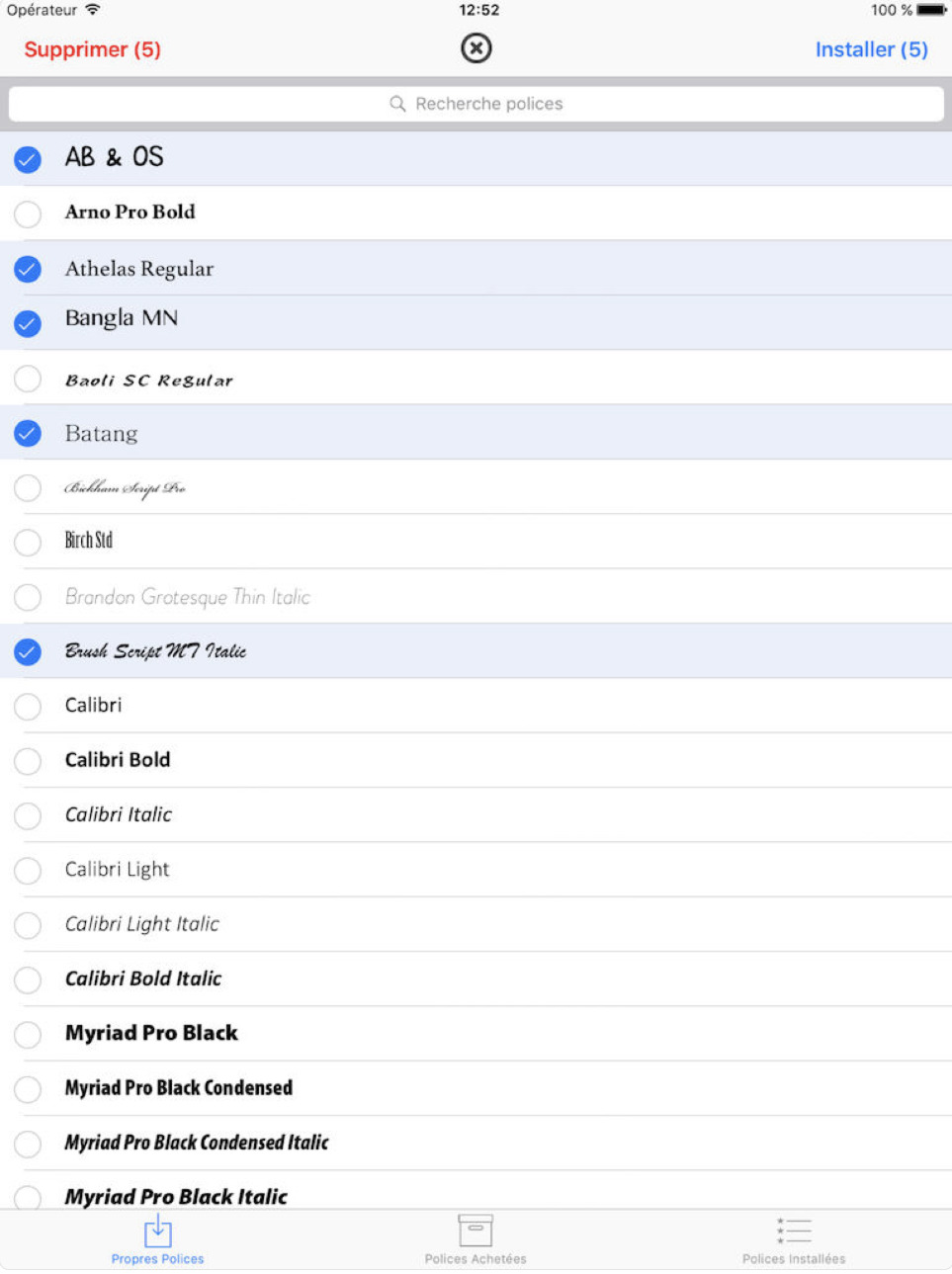 ipad application anyfont 20 applications iPad pour booster votre productivité