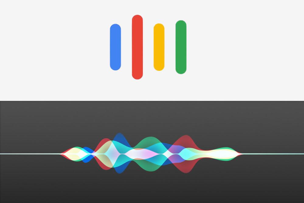Assistants Vocaux Siri Google Assitant 1000x667 Siri et Google Assistant en tête sur le marché des assistants vocaux