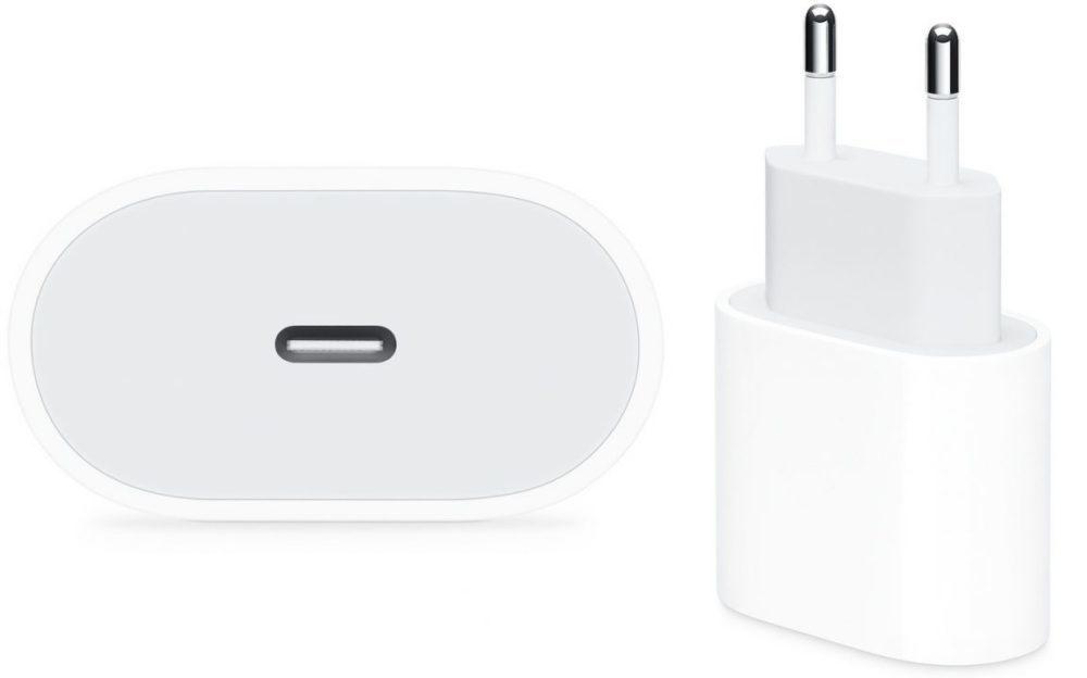 Un chargeur 18 W et câble un Lightning vers USB C dans la boîte des iPhone de 2019 ?