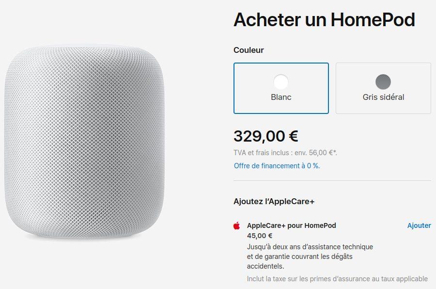 HomePod Prix Reduit Apple baisse le prix du HomePod en France et dans les autres pays