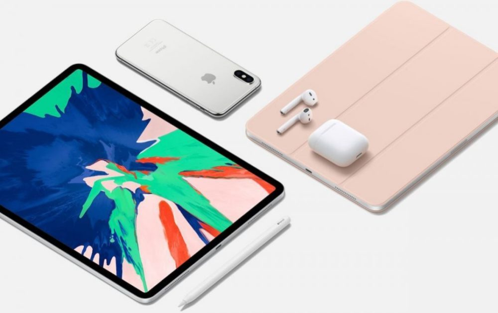 IPhone XS vs iPad Pro 2018 vs AirPods 1000x629 Apple a baissé le prix des iPhone, des iPad, des Mac et des AirPods en Chine