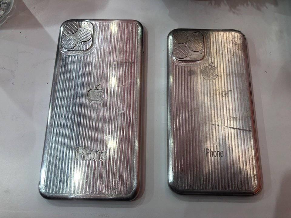 Moules iPhone 2019 2 Des moules nous proposent de voir le design des iPhone de 2019