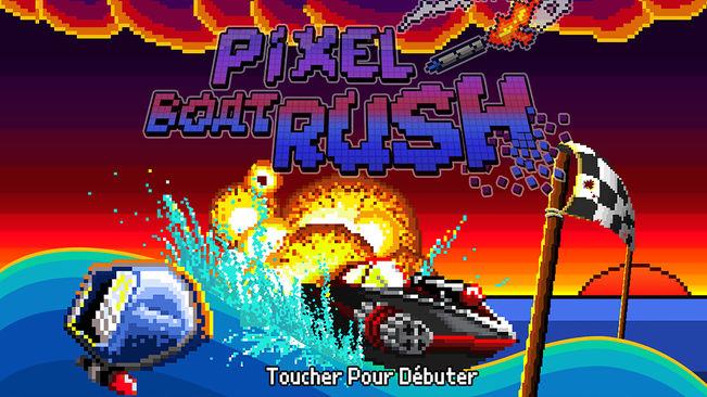 Pixel boat rush Bons plans App Store du 16/04/2019