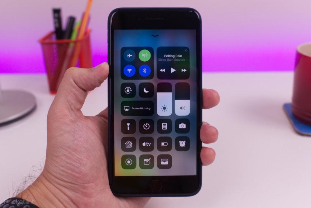 centre de controle ios 12 iphone 1000x668 iOS 12.3 bêta 3 est disponible au téléchargement