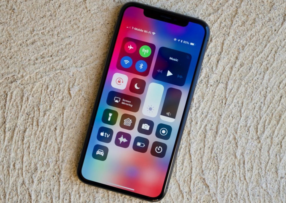 centre de controle ios 12 iphone x 1000x711 iOS 12.4 bêta 3 est disponible sur iPhone, iPad et iPod touch