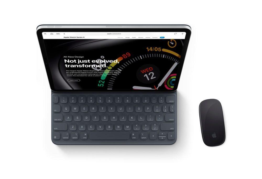 iOS 13 Concept Souris iPad 1 1000x684 Un concept iOS 13 invente un multitâche revu, le support de la souris sur iPad et plus encore