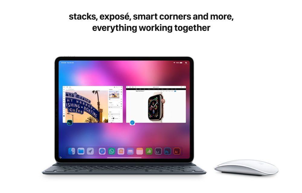 iOS 13 Concept Souris iPad 5 1000x641 Un concept iOS 13 invente un multitâche revu, le support de la souris sur iPad et plus encore