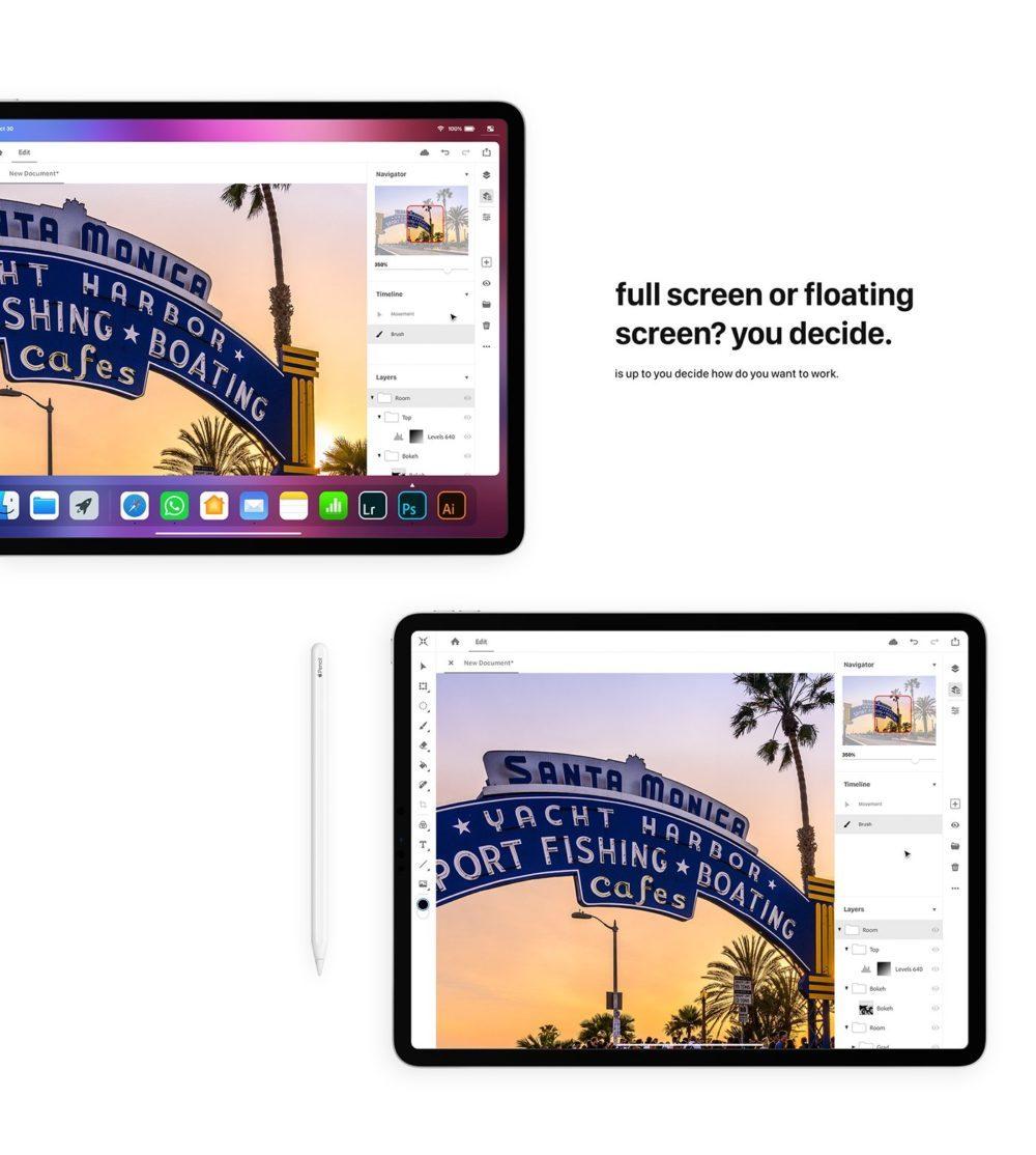 iOS 13 Concept Souris iPad 7 1000x1114 Un concept iOS 13 invente un multitâche revu, le support de la souris sur iPad et plus encore