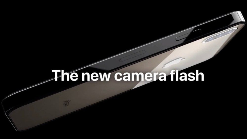 iPhone de 2019 : un concept avec 3 capteurs photo, USB C, design de liPad Pro