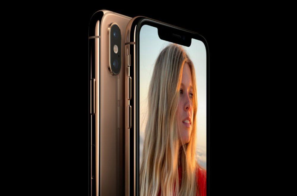 iPhone Xs Encoche 1000x662 iPhone de 2019 : caméra avant de 12 mégapixels et objectif ultra grand angle discret