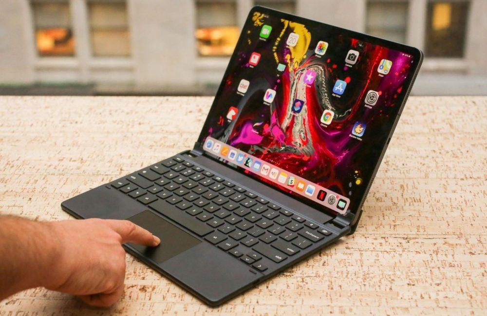 ipad pro clavier 1000x650 Les iPad pourraient bien supporter une souris dici quelques temps