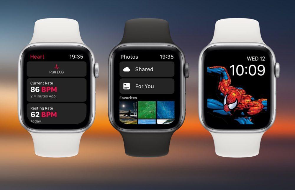 watchOS 6 Concept 1000x645 Un concept watchOS 6 qui imagine de nouveaux cadrans, de nouvelles applications et plus