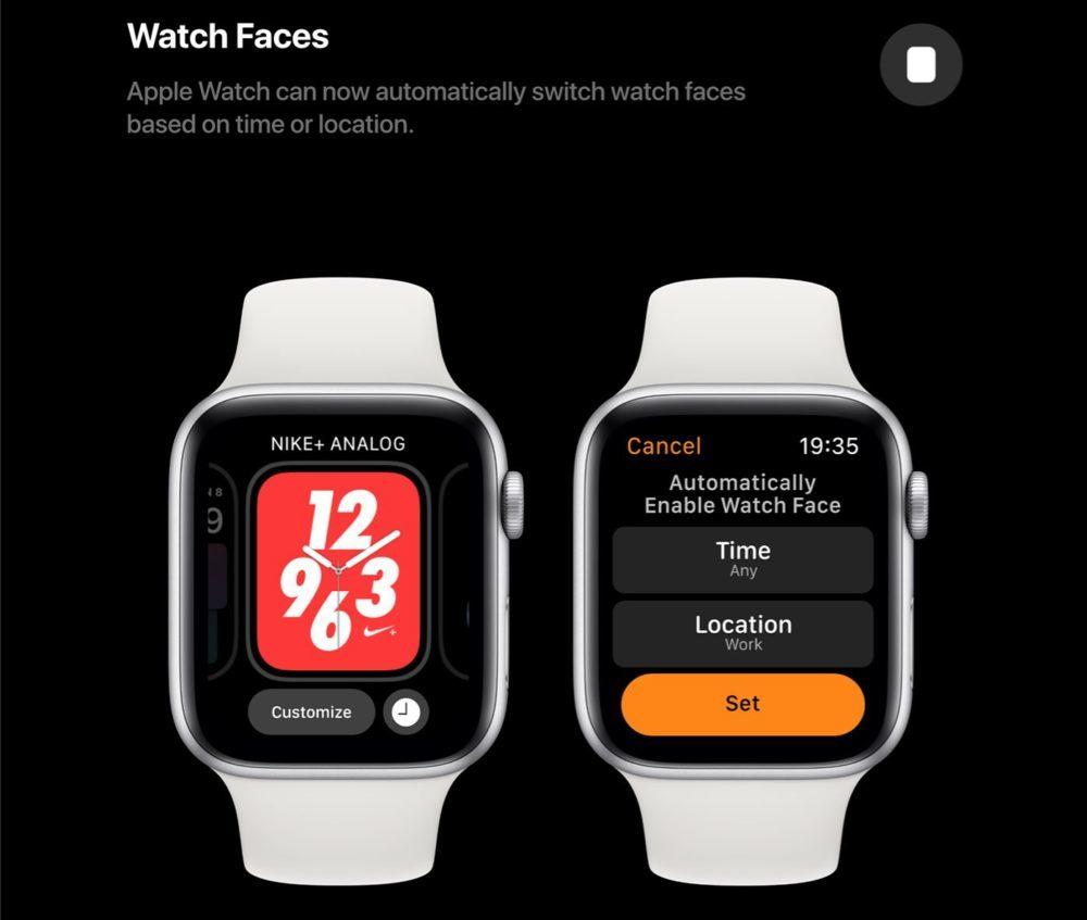 watchOS 6 Concept Cadrans 1000x847 Un concept watchOS 6 qui imagine de nouveaux cadrans, de nouvelles applications et plus