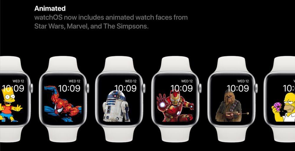 watchOS 6 Concept Cadrans 2 1000x513 Un concept watchOS 6 qui imagine de nouveaux cadrans, de nouvelles applications et plus