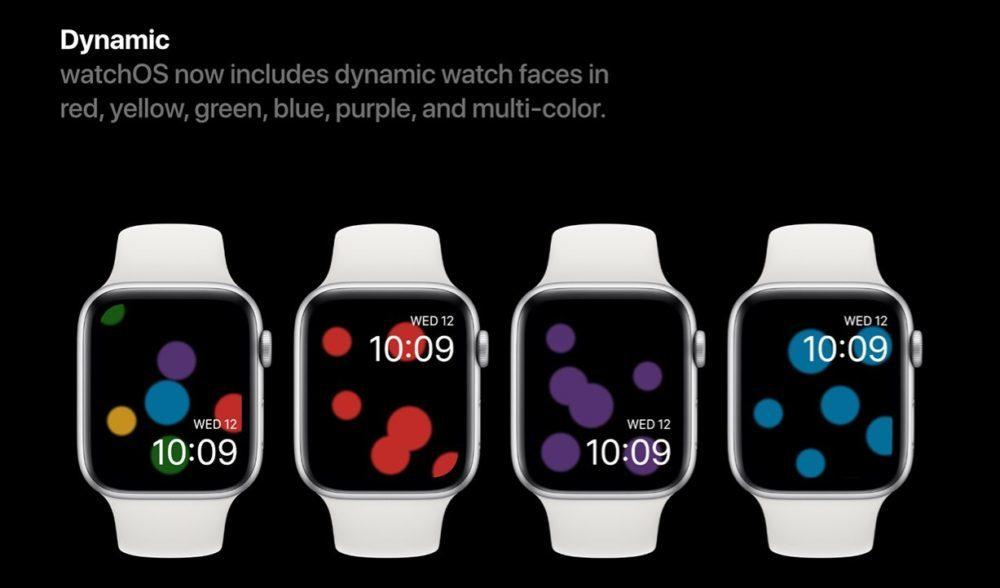 watchOS 6 Concept Cadrans 3 1000x588 Un concept watchOS 6 qui imagine de nouveaux cadrans, de nouvelles applications et plus