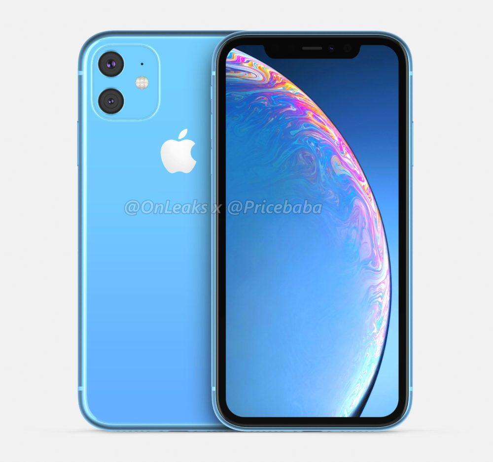 2019 iPhone XR 2 1000x938 iPhone XR 2019 : un leak montre un module photo carré avec deux capteurs au dos