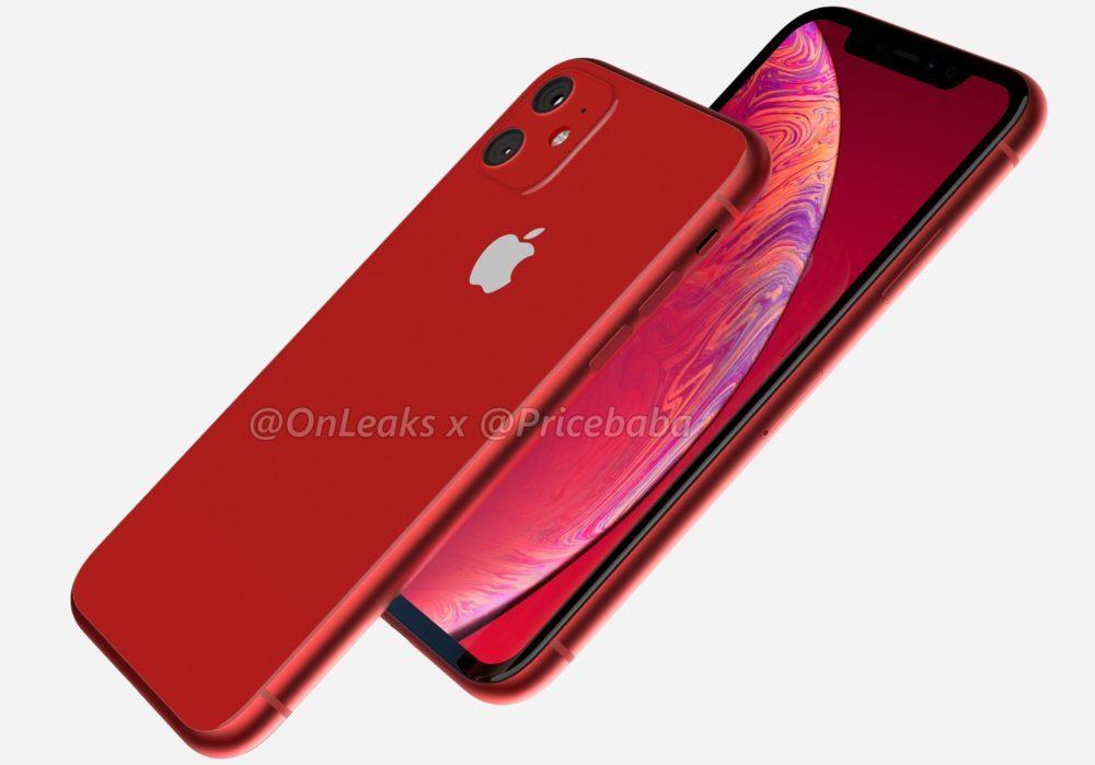 2019 iPhone XR 4 1000x699 iPhone XR 2019 : un leak montre un module photo carré avec deux capteurs au dos