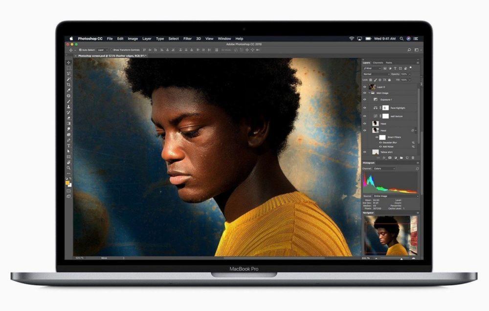 Apple dévoile un MacBook Pro avec 8 cœurs et avec un nouveau clavier