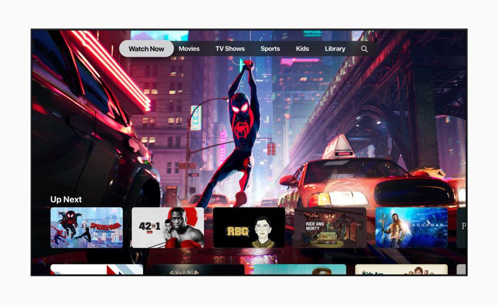 Apple TV App TV Plus 1000x613 La version finale de tvOS 12.3 est disponible pour lApple TV