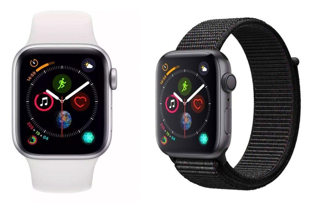 Apple Watch Series 4 1000x650 LApple Watch a occupé 35,8% des ventes de montres connectées pour le Q1 2019