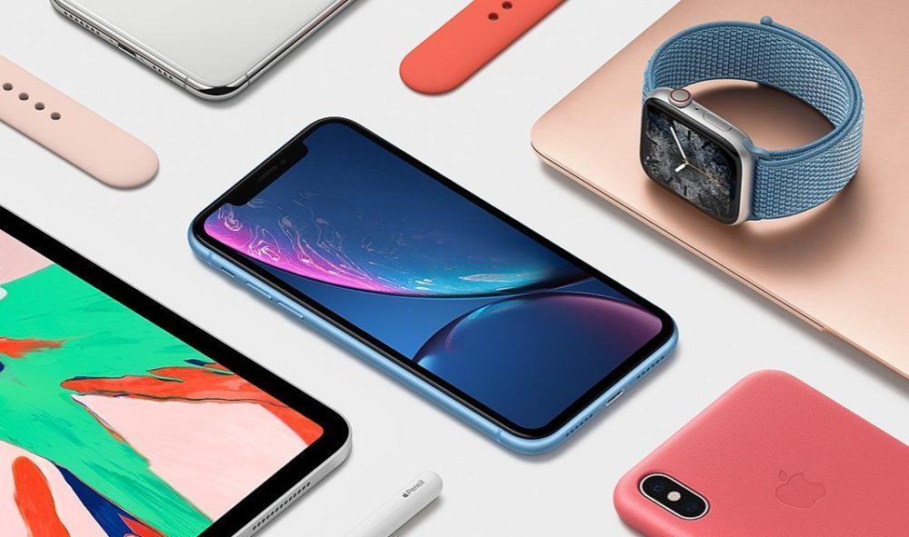 Apple iPad Pro Apple Watch iPhone XR 1000x591 Apple a annoncé ses résultats financiers pour le Q2 2019 : baisse pour liPhone et le Mac