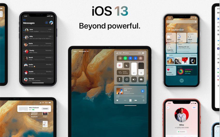 Concept iOS 13 Behance iOS 13 : un concept rassemble les fonctionnalités quApple pourrait dévoile à la WWDC