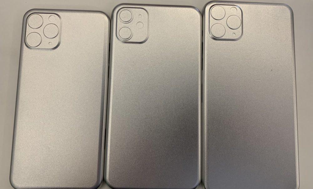 Moules iPhone de 2019 1000x605 Des moules nous laissent voir, une fois de plus, les appareils photo des iPhone de 2019