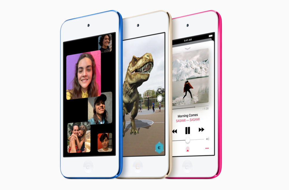 Nouvel iPod Touch 2019 1000x659 Le nouvel iPod touch est en mesure dafficher le pourcentage de la batterie