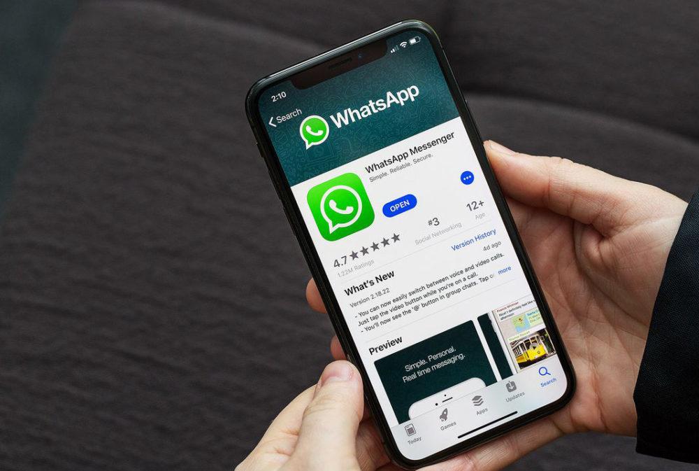 WhatsApp iPhone X App Store 1000x673 WhatsApp : les publicités dans la section Statut est pour 2020