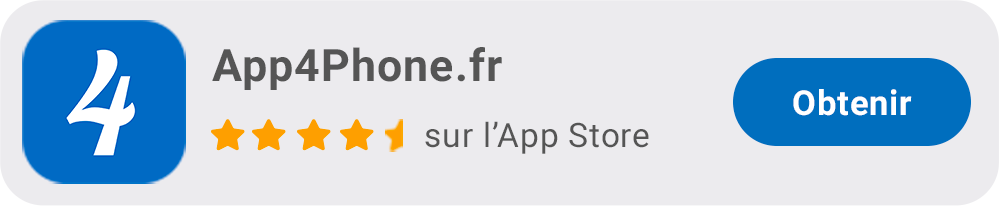 App4Phone.fr App iOS pour iPhone