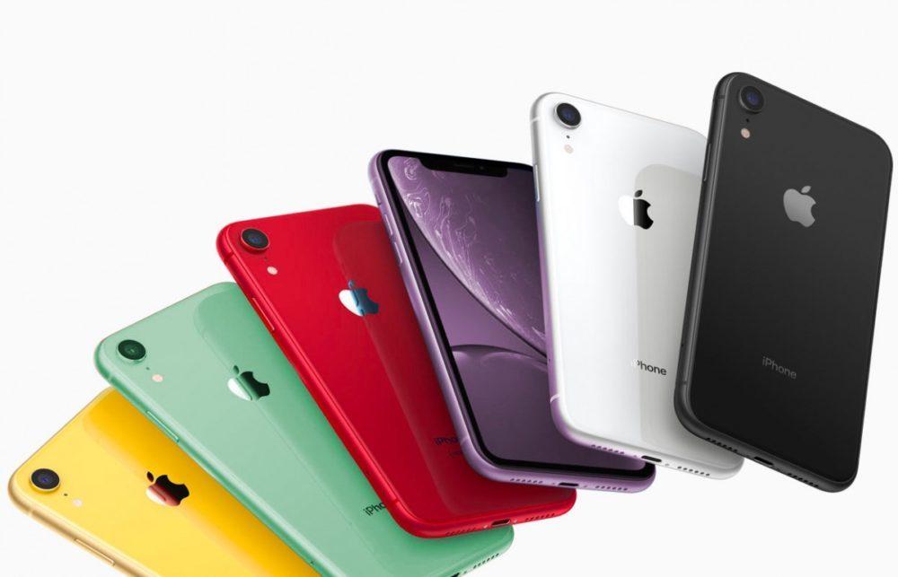 iPhone XR Couleurs 2019 1000x643 Des rendus présentent les coloris vert et lavande des iPhone XR 2019