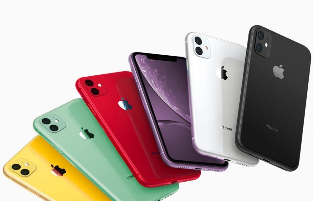 iPhone XR couleurs 2019 2 Capteurs Photo 1000x643 Des rendus présentent les coloris vert et lavande des iPhone XR 2019