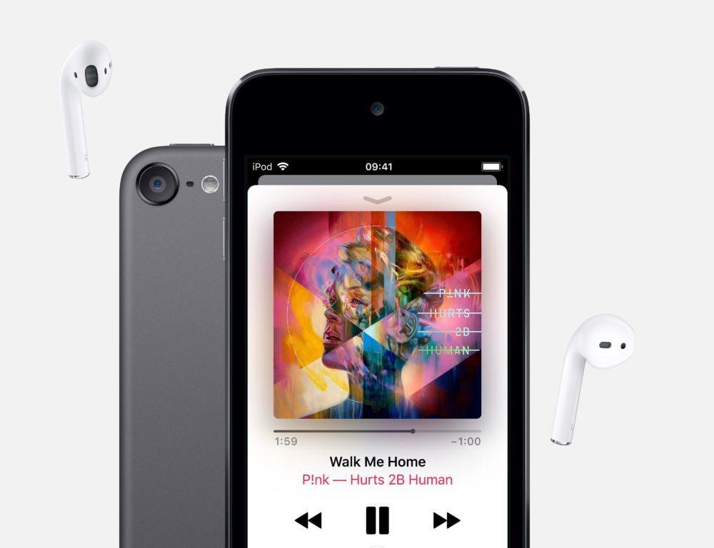 iPod Touch 2019 1 1000x768 Le nouvel iPod touch est arrivé : puce A10 Fusion, nouveaux coloris, jusquà 256 Go de stockage