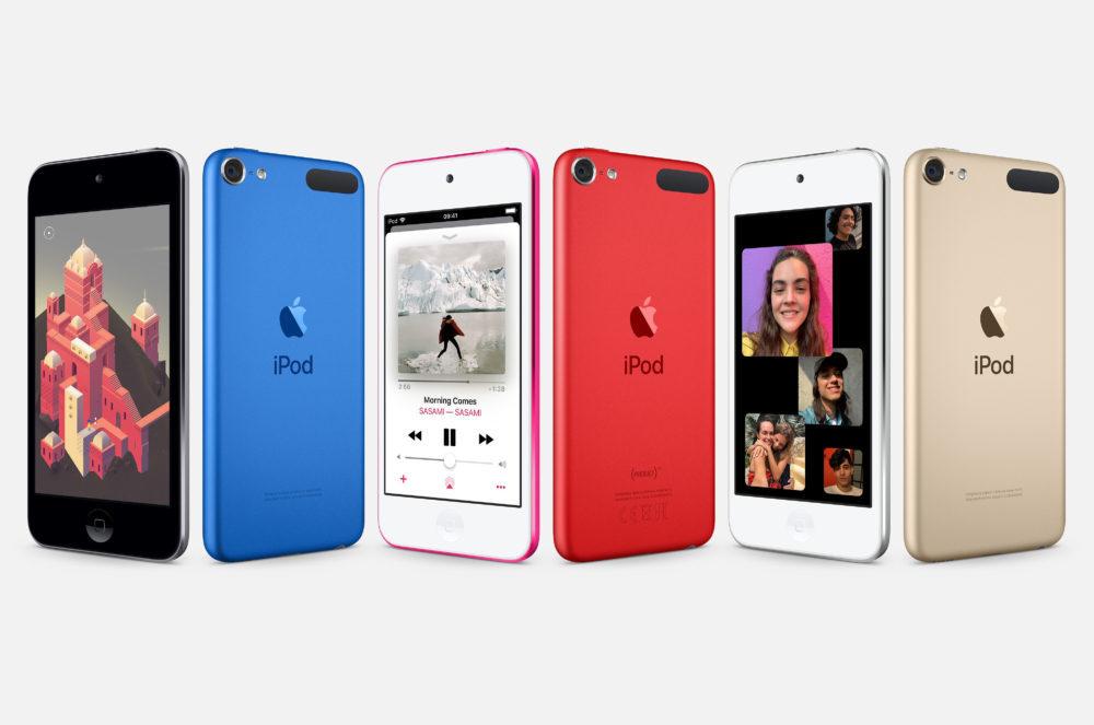 iPod Touch 2019 1000x663 Le nouvel iPod touch est arrivé : puce A10 Fusion, nouveaux coloris, jusquà 256 Go de stockage