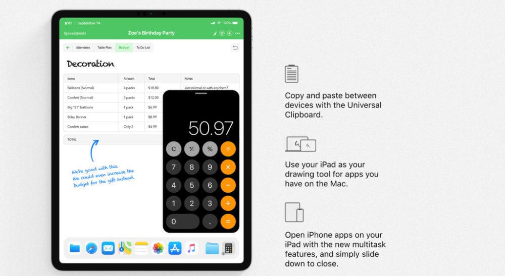ios 13 concept iphone apps on iphone 1000x547 iOS 13 : un concept rassemble les fonctionnalités quApple pourrait dévoile à la WWDC