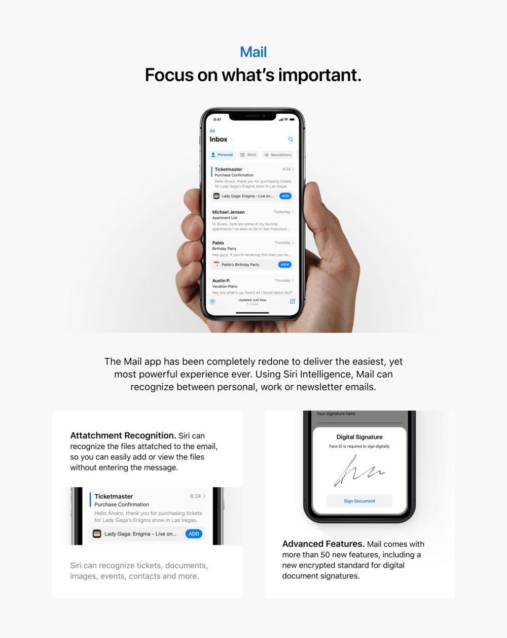 ios 13 concept mail app 1000x1257 iOS 13 : un concept rassemble les fonctionnalités quApple pourrait dévoile à la WWDC