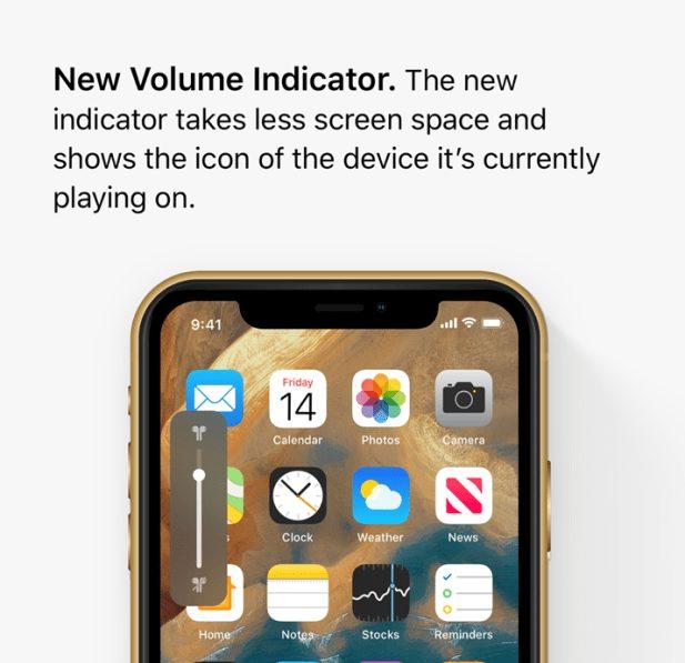 ios 13 concept volume iOS 13 : un concept rassemble les fonctionnalités quApple pourrait dévoile à la WWDC