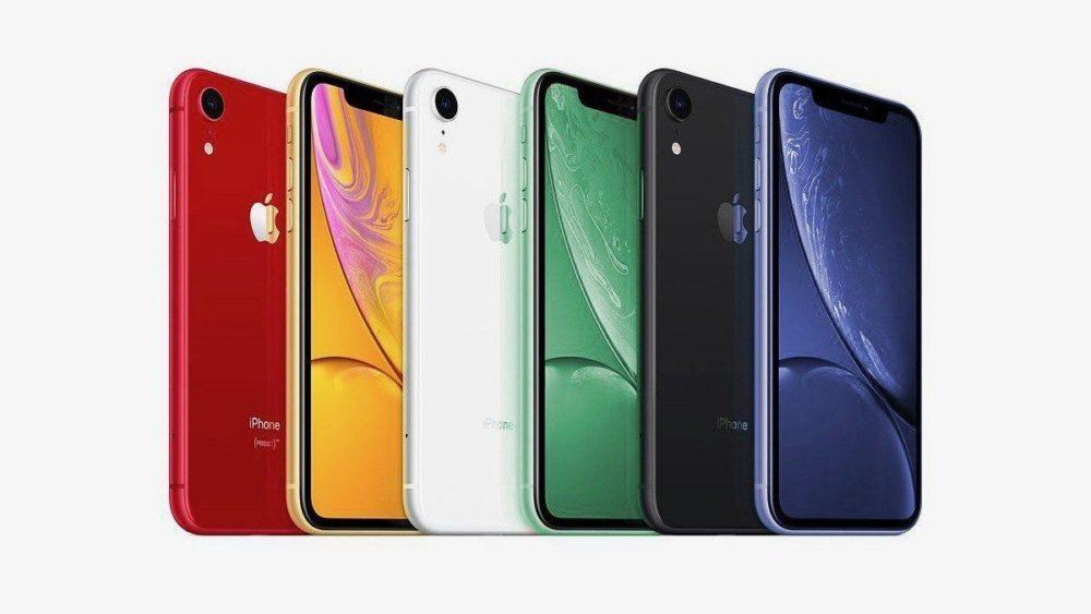 Des rendus présentent les coloris vert et lavande des iPhone XR 2019