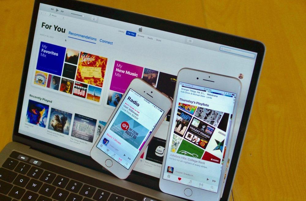 itunes iphone mac 1000x659 Apple est accusé davoir vendu des données découte des clients iTunes