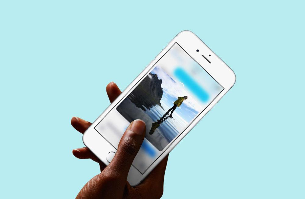 3d touch iPhone 1000x651 iOS 13 ne va pas abandonner 3D Touch, la fonction sera de retour sur la prochaine bêta