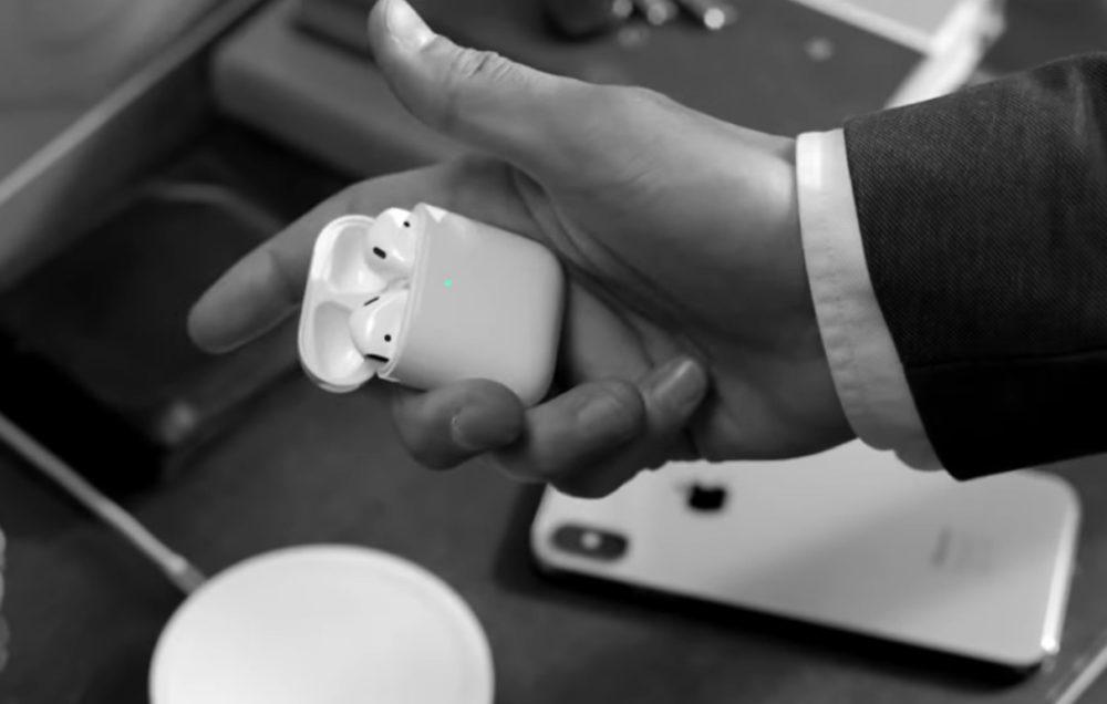 AirPods 2eme Generation Publicite 1000x636 Apple fait léloge des AirPods avec la recharge sans fil dans une nouvelle publicité