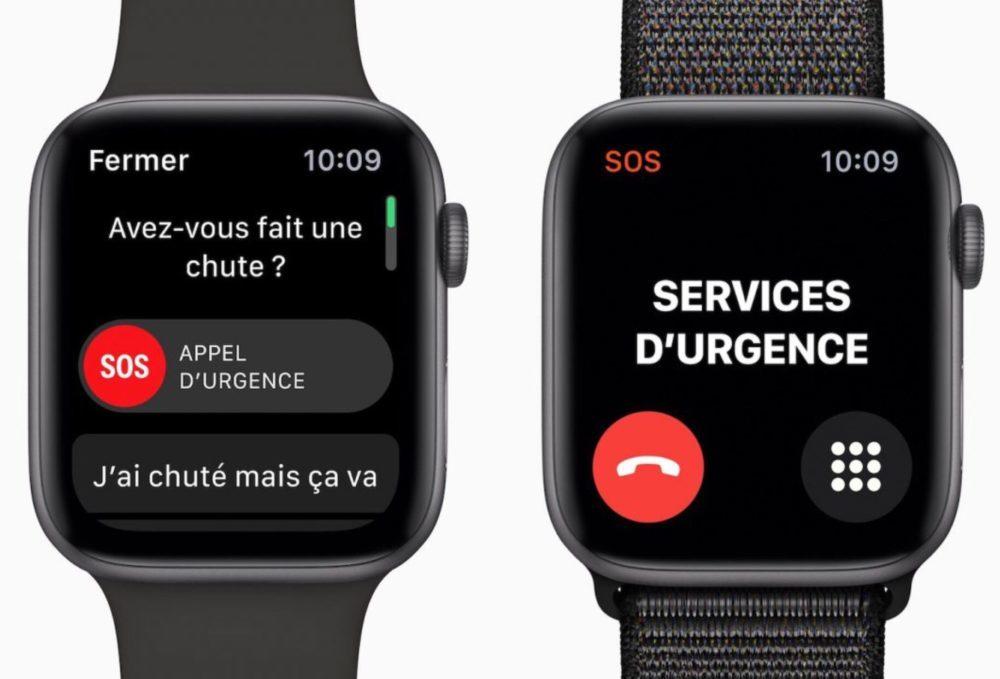 Apple Watch Series 4 Detection Chute 1000x679 Apple Watch : la prévention des crises de panique serait proposée sur watchOS 7
